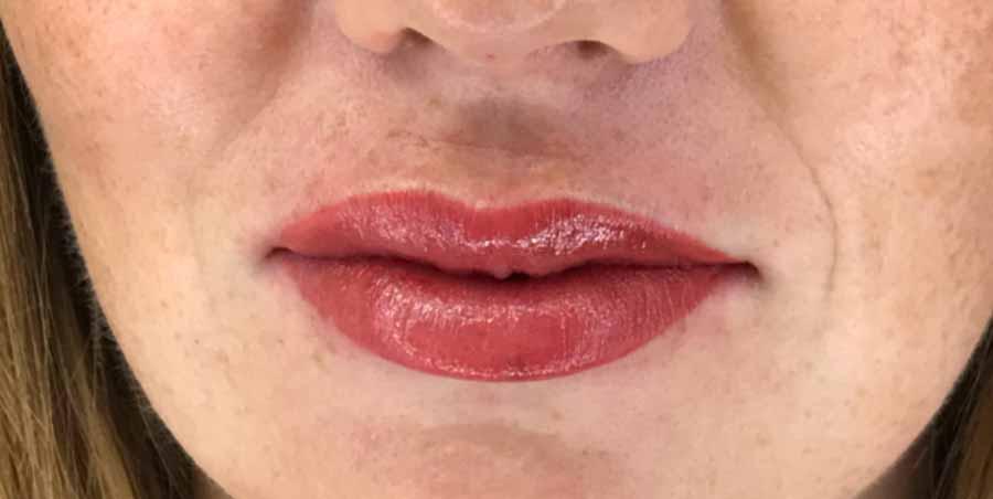 maquillage levres apres - Lèvres