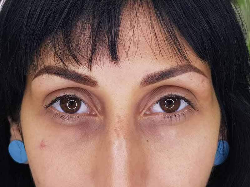 maquillage permanent sourcils villeneuve loubet apres - Sourcils